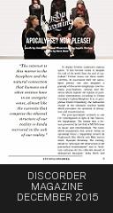 Discorder Magazine, December 2015